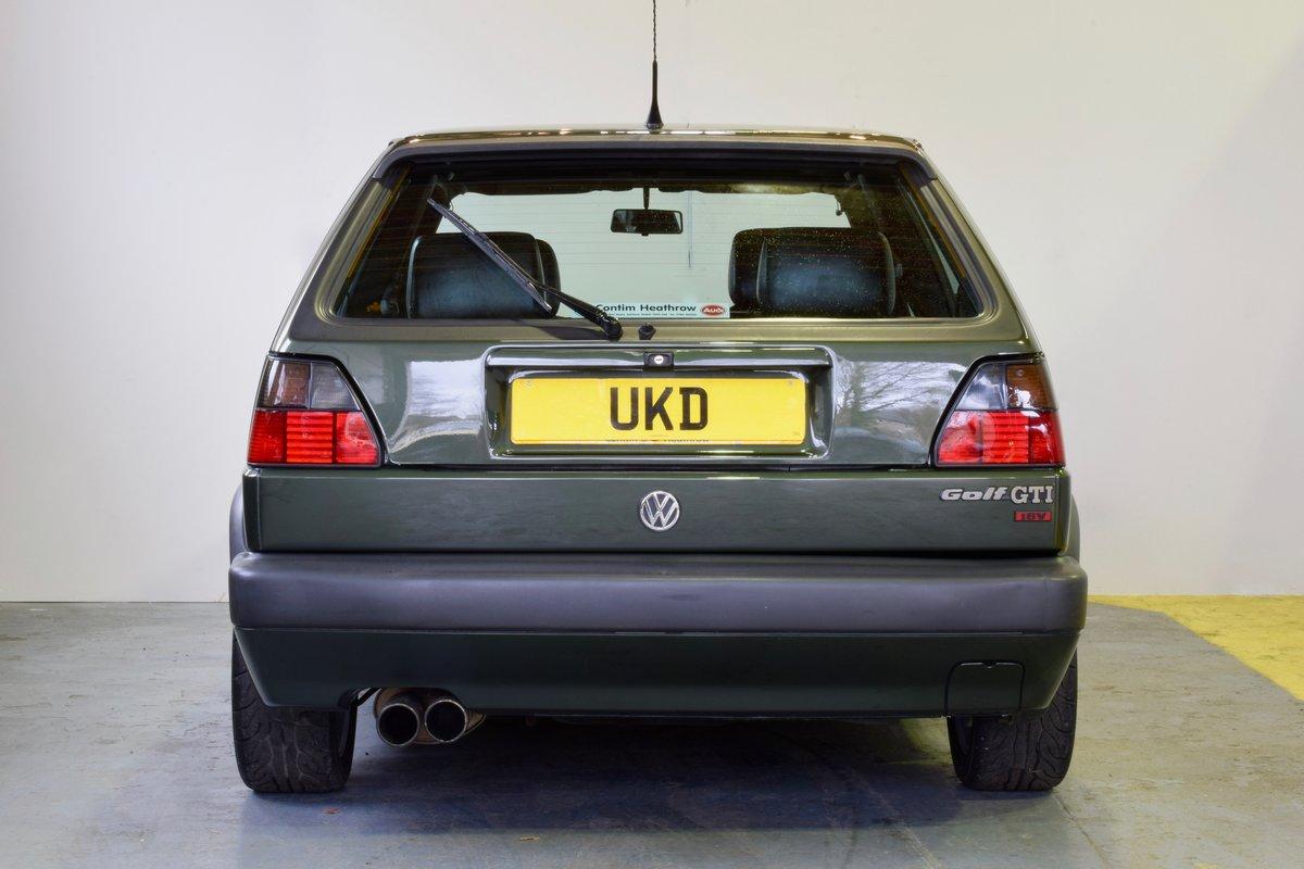 VW GOLF MK2 GTI 16V OAK GREEN 3DR 1991 SOLD (picture 6 of 15)
