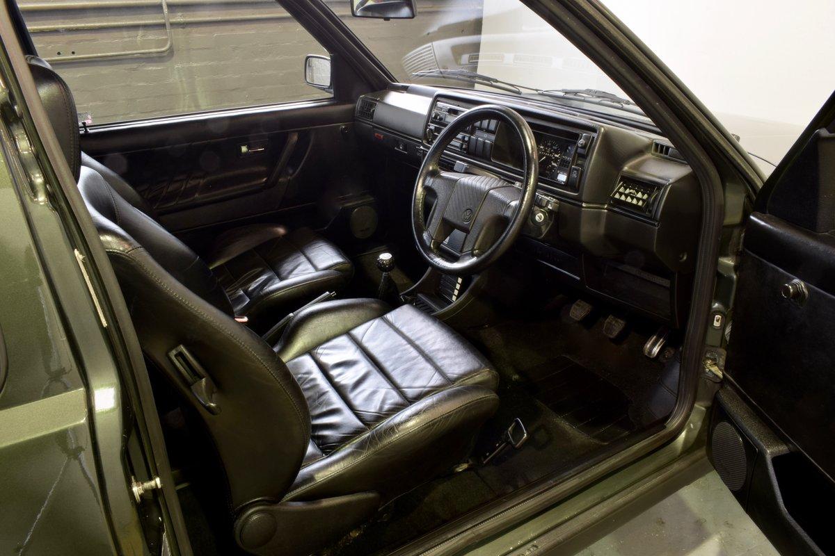 VW GOLF MK2 GTI 16V OAK GREEN 3DR 1991 SOLD (picture 15 of 15)