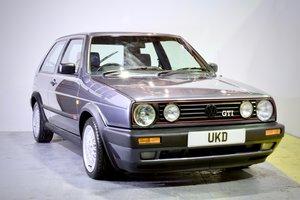1991 VW VOLKSWAGEN GOLF GTI MK2 1.8 GREY 3DR