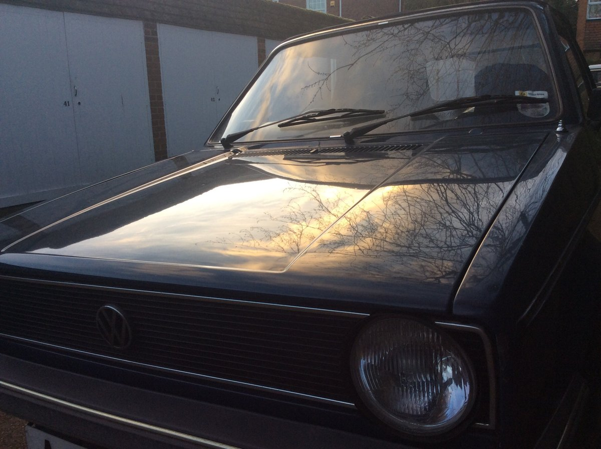 1982 Rare Golf GLS Karmann For Sale (picture 3 of 6)