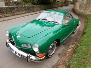 1974 VW Karmann Ghia LHD at ACA 25th January
