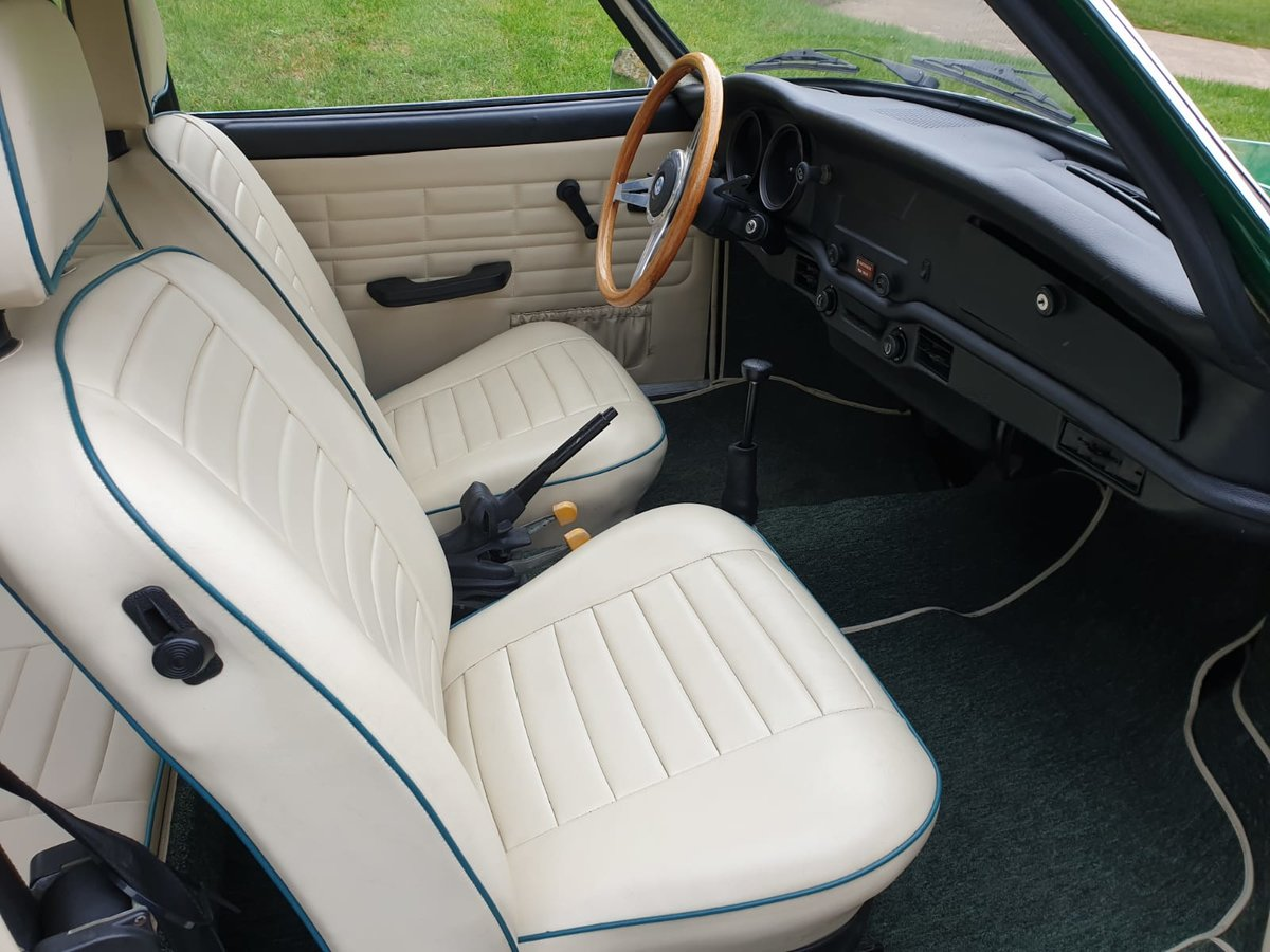 1974 VW Karmann Ghia LHD at ACA 25th January  For Sale (picture 5 of 6)