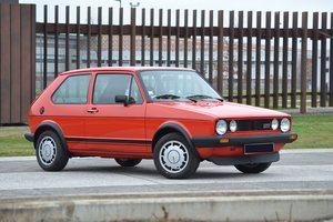 1983 Volkswagen Golf GTI 1 800 Plus Pirelli+ No Reserve For Sale by Auction