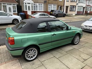 1995 Beautiful Low Milage Golf Mk3 Cabriolet