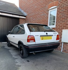 1991 VW Polo GT Coupe 1.3 mk2f - Original - Barn