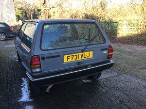 1988 Mk2 polo Fox breadvan