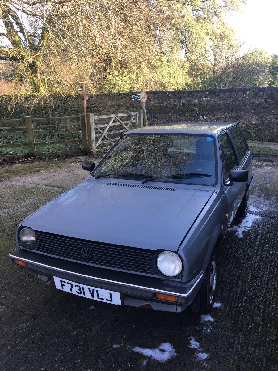 1988 Mk2 polo Fox breadvan For Sale (picture 4 of 6)