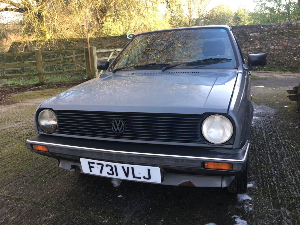 1988 Mk2 polo Fox breadvan For Sale (picture 5 of 6)