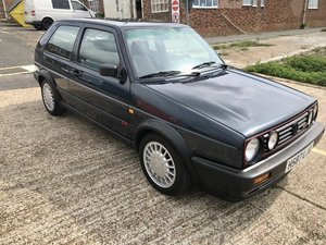 1990 Volkswagen Golf MK2 Genuine UK Registered G60 GTI For Sale