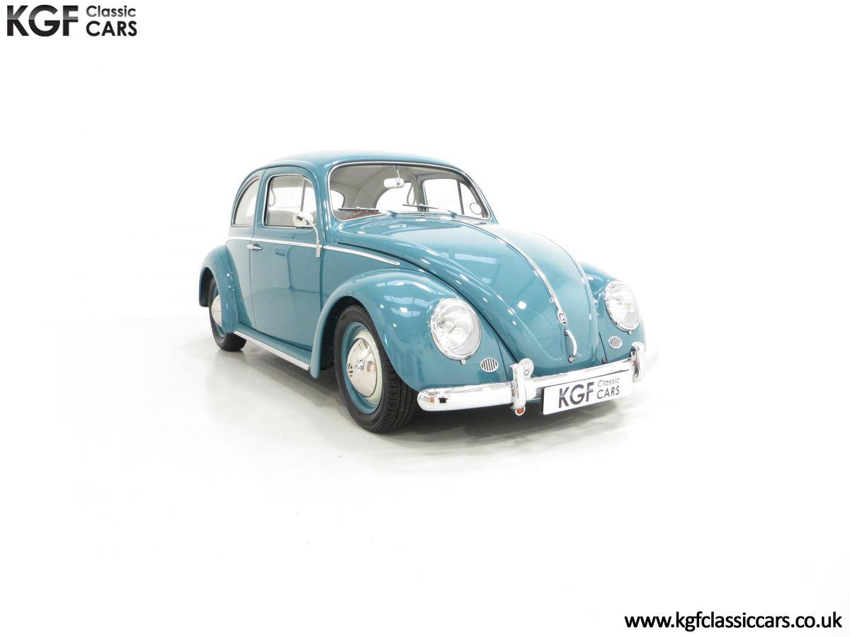 An Incredible UK RHD 1960 Volkswagen Beetle Sedan SOLD (picture 1 of 6)