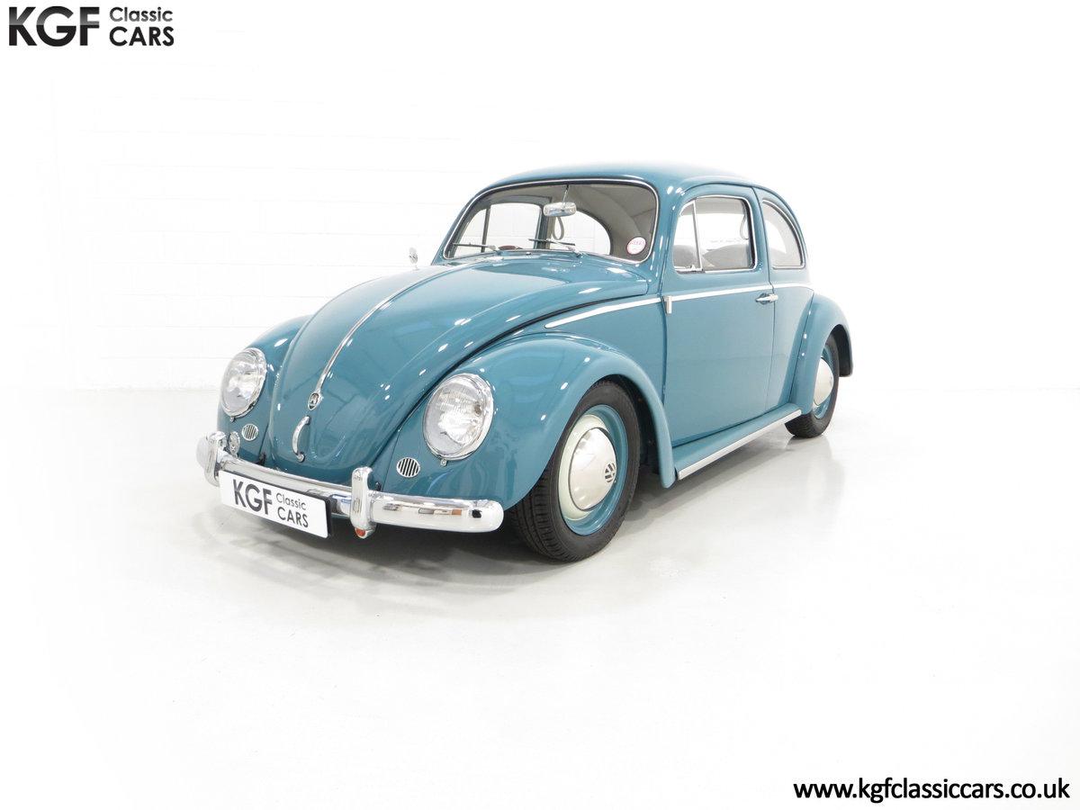 An Incredible UK RHD 1960 Volkswagen Beetle Sedan SOLD (picture 2 of 6)