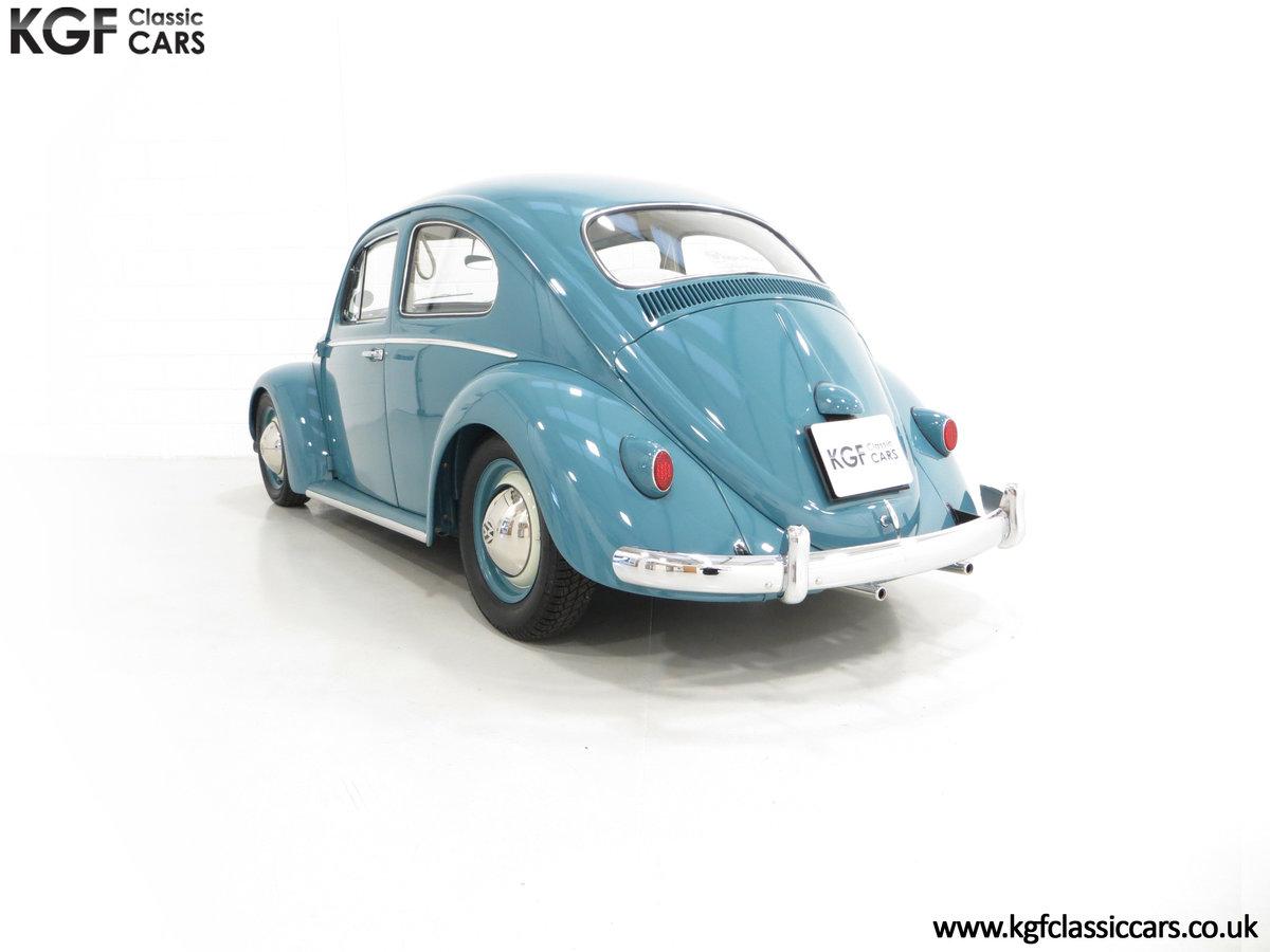 An Incredible UK RHD 1960 Volkswagen Beetle Sedan SOLD (picture 4 of 6)