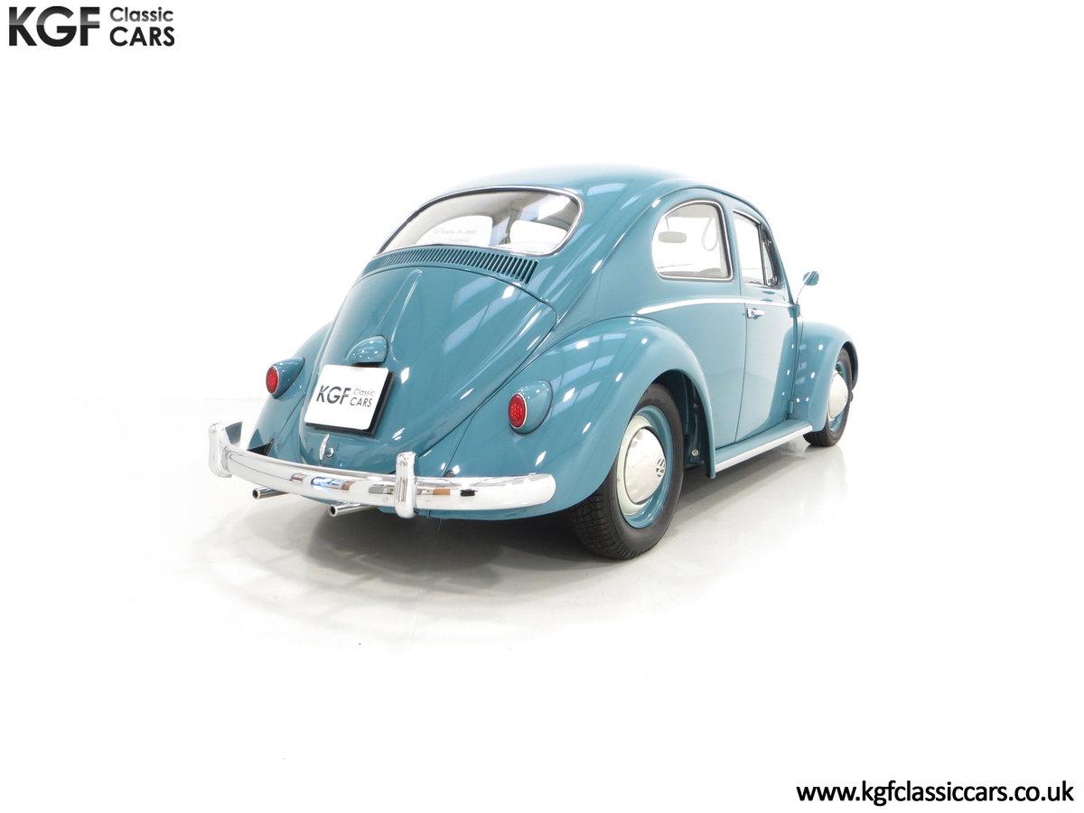 An Incredible UK RHD 1960 Volkswagen Beetle Sedan SOLD (picture 5 of 6)
