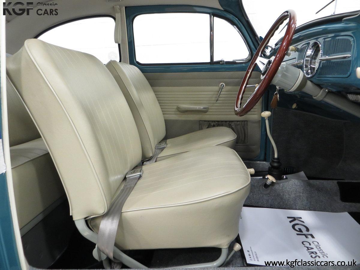 An Incredible UK RHD 1960 Volkswagen Beetle Sedan SOLD (picture 6 of 6)