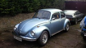 1974 Vw Beetle 1303 Marathon blue