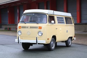 1978 Volkswagen Combi Type 2 Campmobile No reserve For Sale by Auction