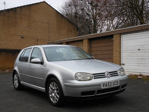 2004 VW Golf 1.9 GTI 150BHP PDI 6SPD 2 Former + FSH SOLD