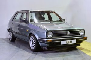 VW VOLKSWAGEN GOLF MK2 GL 1.8 4+E 5DR JADE GREEN 1989 For Sale