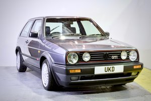 VW VOLKSWAGEN GOLF GTI MK2 1.8 GREY 3DR 1991