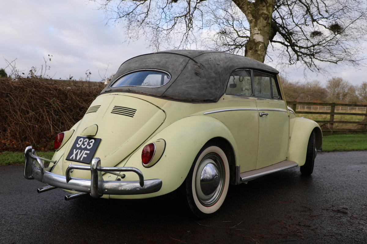1962 Volkswagen Beetle Cabrio For Sale (picture 2 of 4)