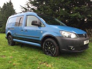 2011 Excellent VW Caddy 4Motion 4x4 Overland Camper van For Sale