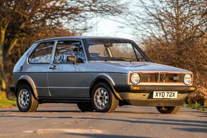 1981 Golf GTI Very Low Miles For Sale by Auction