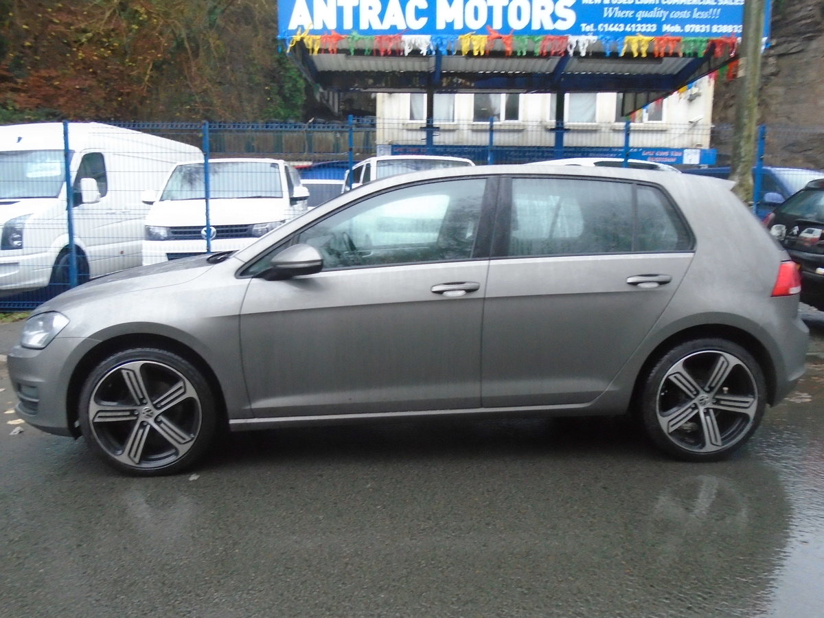 2015 Volkswagen Golf 1.6TDI ( 105ps ) BMT DSG Match AUTO For Sale (picture 2 of 6)