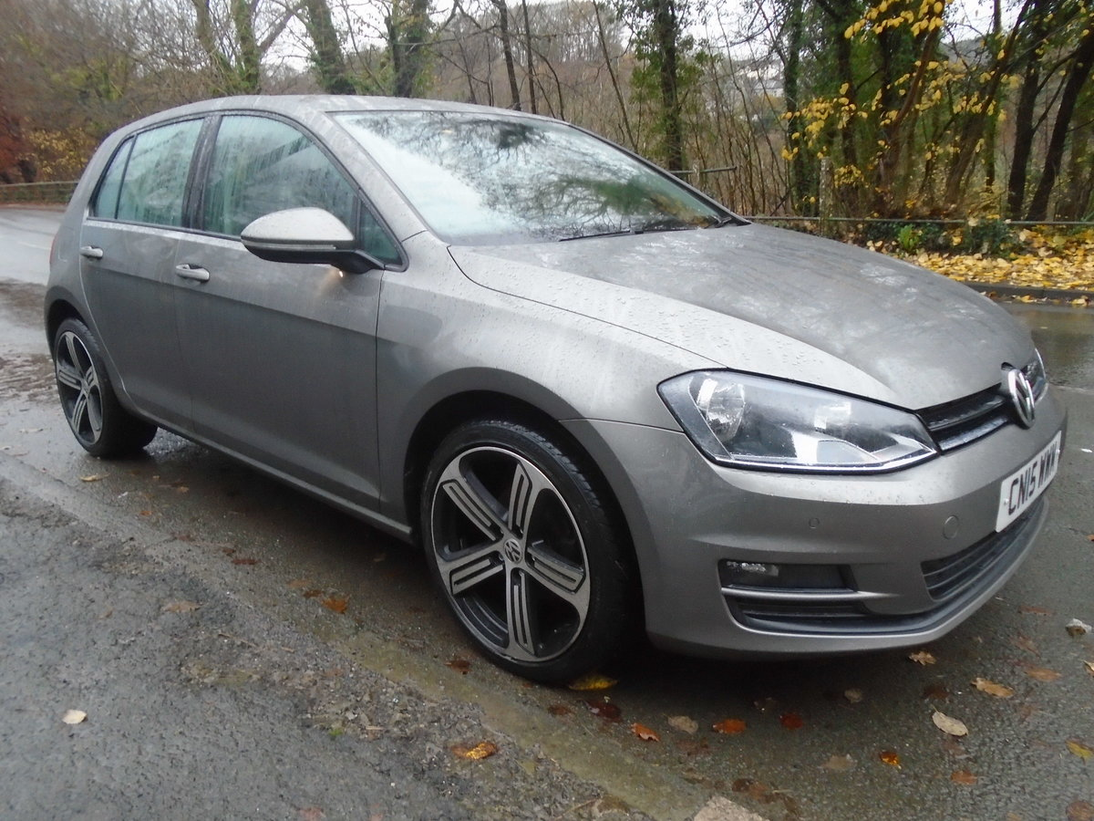 2015 Volkswagen Golf 1.6TDI ( 105ps ) BMT DSG Match AUTO For Sale (picture 3 of 6)