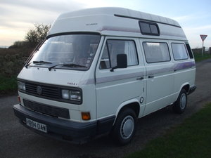 1990 Volkswagen T3 Camper For Sale by Auction