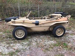 1943 Waffen SS delivered Schwimmwagen SOLD