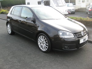 2008 08-reg Volkswagen Golf 2.0TDI GT 5Dr 140bhp manual