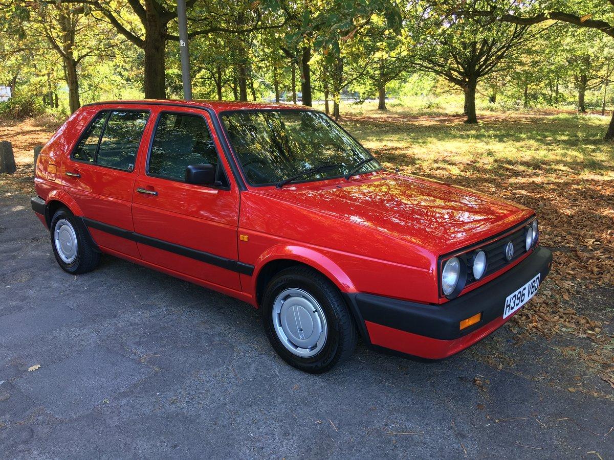 VW Golf MK2 1990/H 1.8GL 42,335 miles 5 door Manual  SOLD (picture 1 of 6)