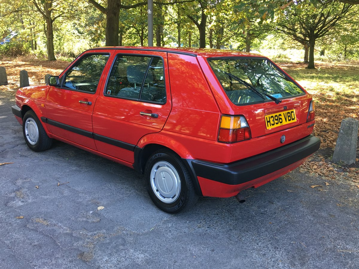 VW Golf MK2 1990/H 1.8GL 42,335 miles 5 door Manual  SOLD (picture 2 of 6)