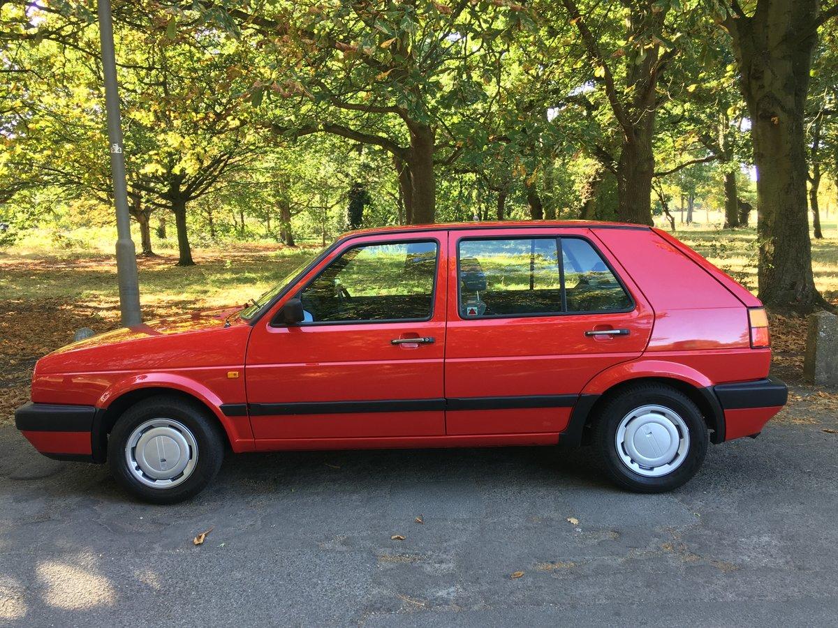 VW Golf MK2 1990/H 1.8GL 42,335 miles 5 door Manual  SOLD (picture 4 of 6)