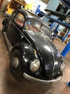 1955 Volkswagen Oval window ragtop SOLD