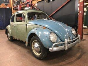 1954 Volkswagen Oval window ragtop SOLD
