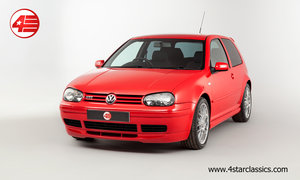 2002 VW Golf GTI 25th Anniversary Edition For Sale