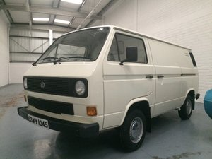 1983 VW Type 25 panel van Immaculate