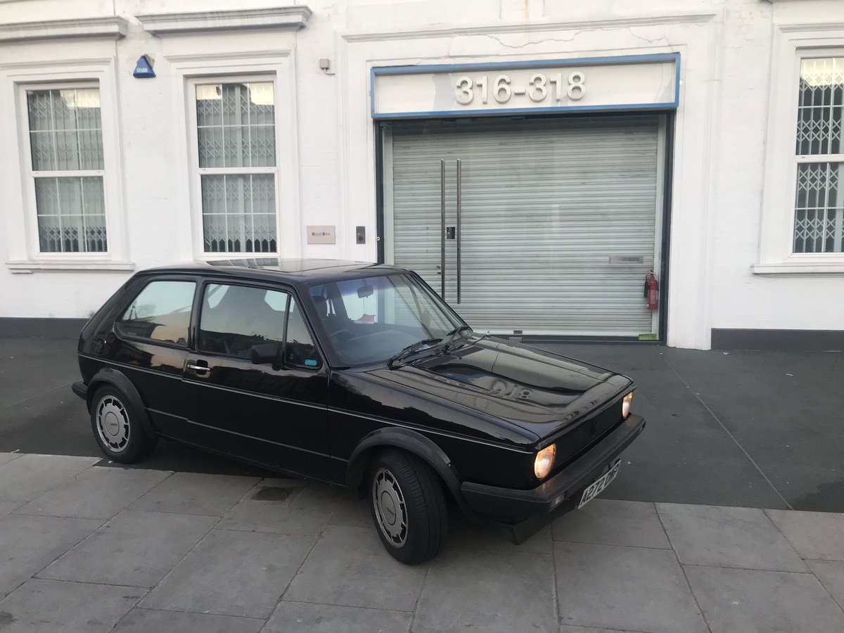 MK 1 GOLF GTI 1.8 Black Campaign 1983  For Sale (picture 4 of 6)