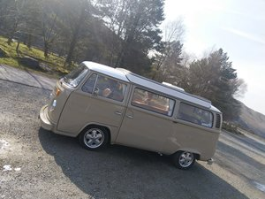 1973 VW T2 Baywindow Campervan totally restored For Sale