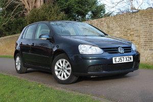2007 Volkswagen Golf Match 1.9 TDI 105 / Full VW History For Sale