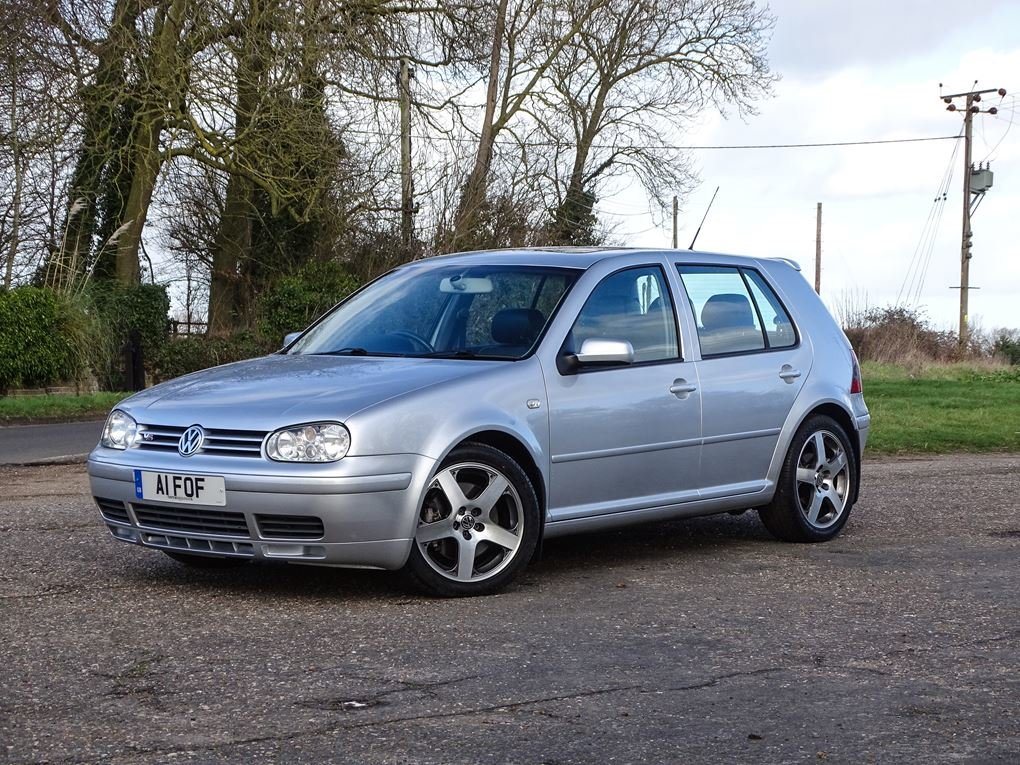 2002 Volkswagen  GOLF  2.8 V6 4MOTION 5 DOOR  5,948 For Sale (picture 1 of 14)