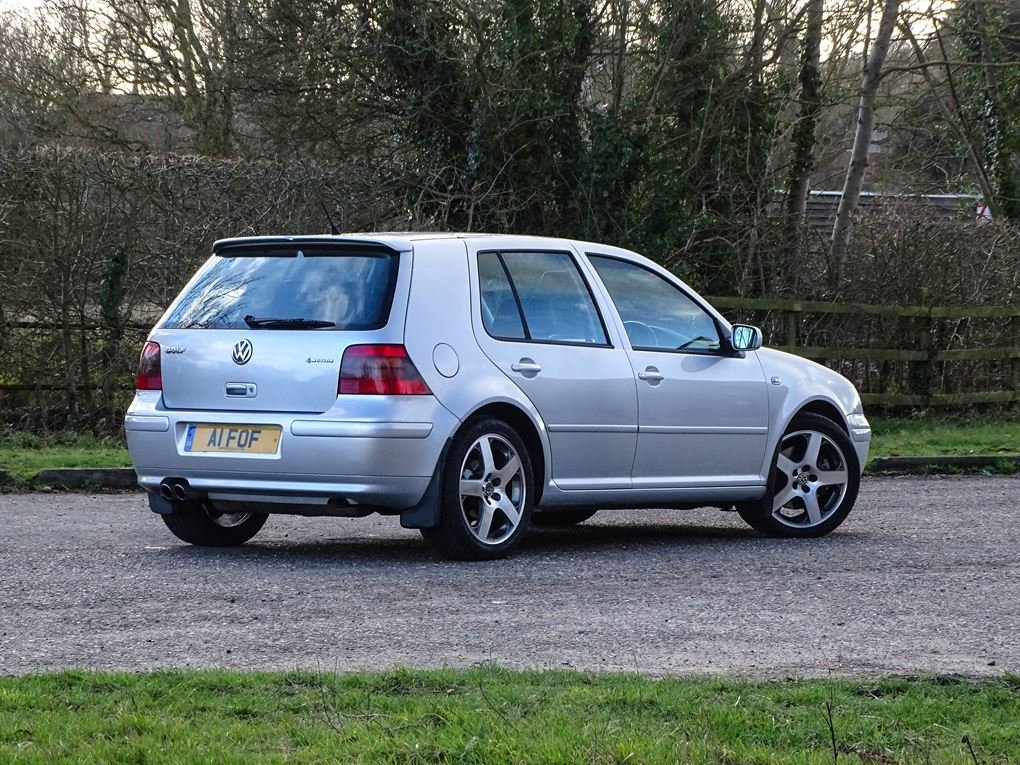 2002 Volkswagen  GOLF  2.8 V6 4MOTION 5 DOOR  5,948 For Sale (picture 4 of 14)