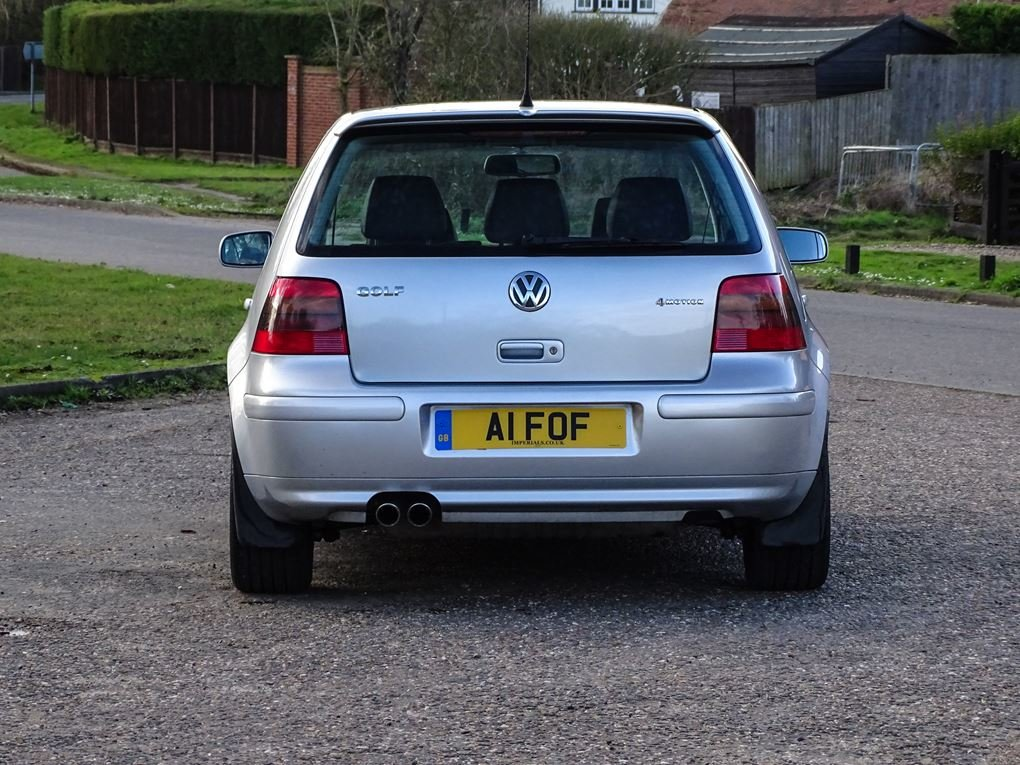 2002 Volkswagen  GOLF  2.8 V6 4MOTION 5 DOOR  5,948 For Sale (picture 11 of 14)