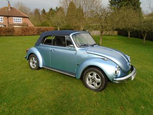 1973 VW Beetle Convertible 4 Seater  For Sale