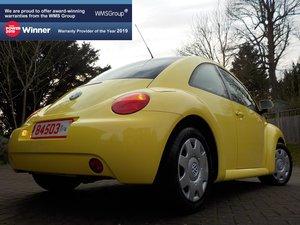 2000 VW Beetle 1.6 – 25k Miles / 1 Lady Owner / As New