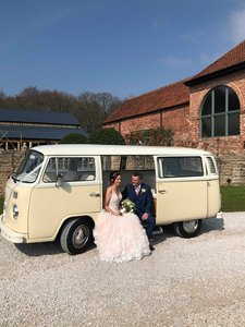 1973 Stunning wedding car - VW bay window camper van
