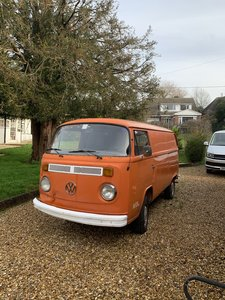 1976 Vw panel van T2Bay window