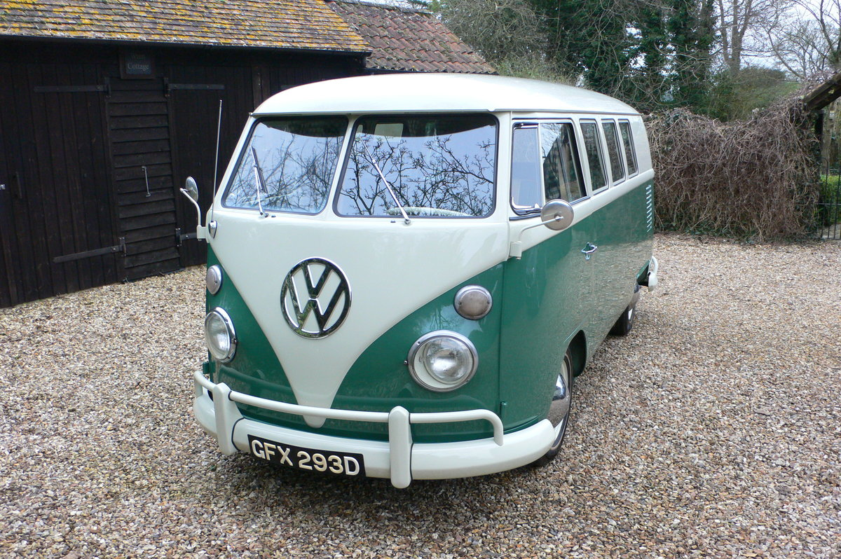 1966 Volkswagen Type 2 Split Screen Camper For Sale by Auction (picture 1 of 6)