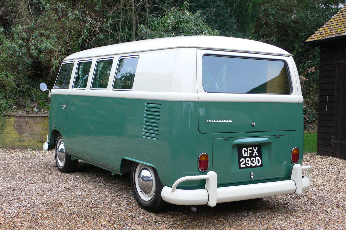 1966 Volkswagen Type 2 Split Screen Camper For Sale by Auction (picture 3 of 6)